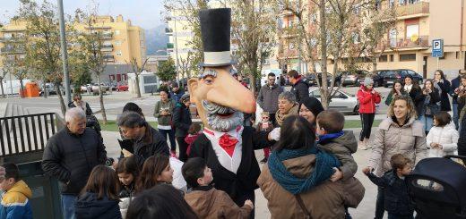 Home dels Nassos 2019 L'Hospitalet Plaça Berenguer