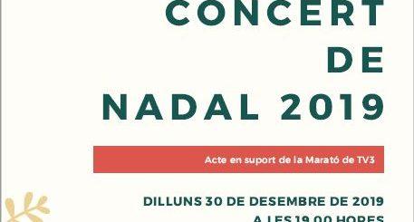 Cartell Concert de Nadal del Foment 2019